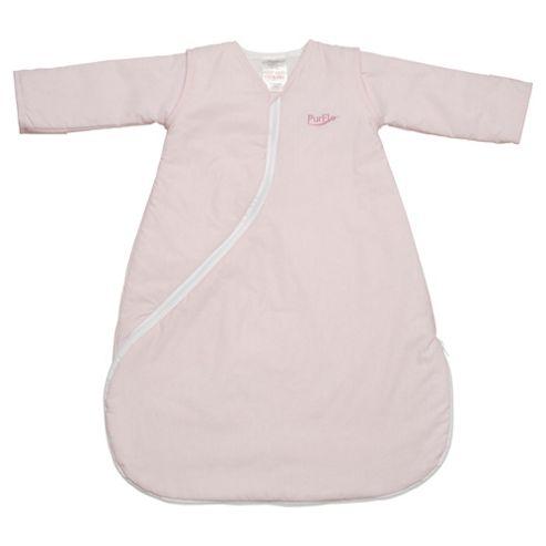 PurFlo Baby 1 Tog SleepSac, 3-9 Months,  Light Pink