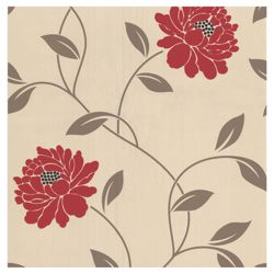 Dulux Wallpaper Camille Crimson 1 Roll