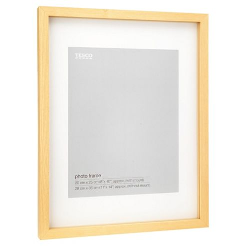 Tesco Light wood Frame 11