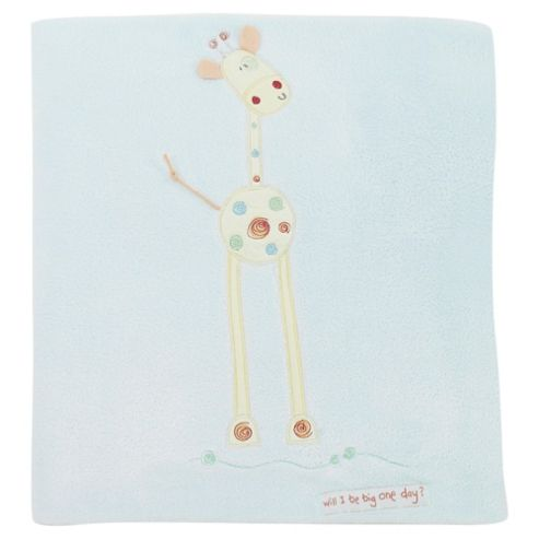 Lollipop Lane Will I Be Big Fleece Blanket, Cot Bed
