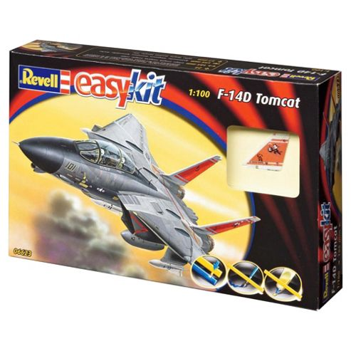 Revell Easykit F-14D Tomcat 1:100 Scale Model Set
