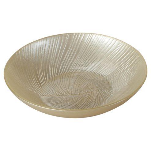 Tesco glass pot pourri bowl, cream