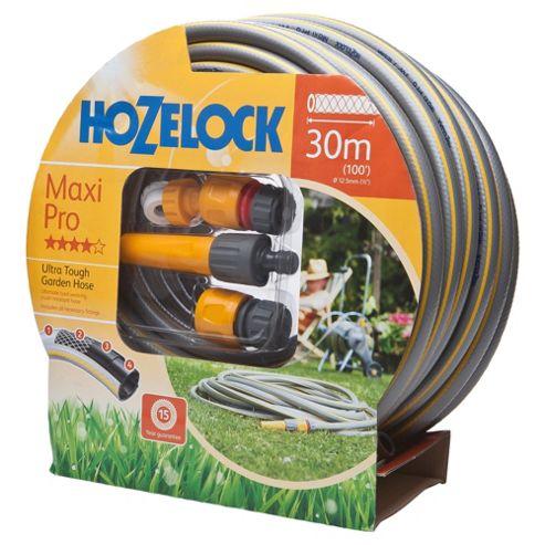 Hozelock Maxi Pro Hose 30m plus Starter Set