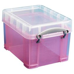 Really useful box 3l translucent pink