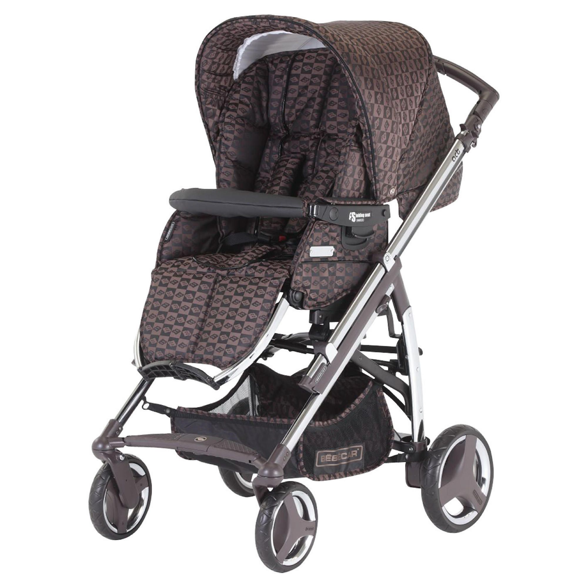 Bebecar Act chrome Pushchair Bronze Velvet at Tesco Direct