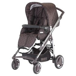 Bebecar Act chrome Pushchair Bronze Velvet