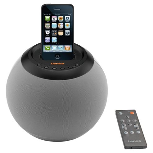 Lenco IPD4200 iPod Speakerball - Grey