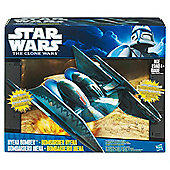 Star Wars Clone Wars Fighter Vehicle Hyena Bomber