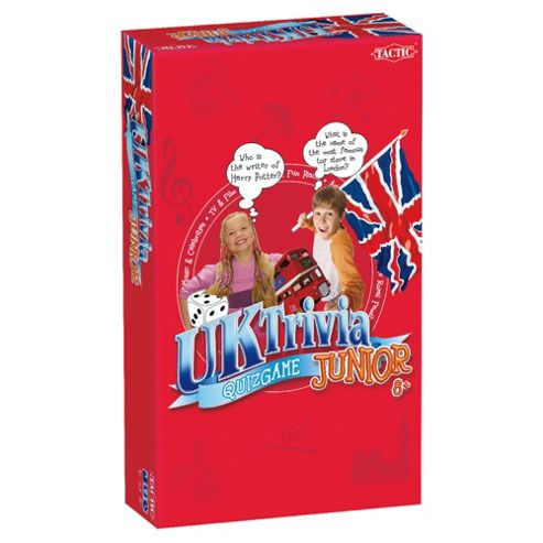 UK Trivia Junior Travel Game