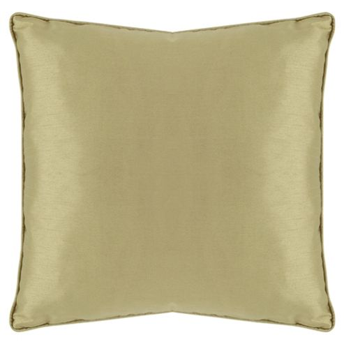 Tesco Set Of 2 Faux Silk Cushions, Green