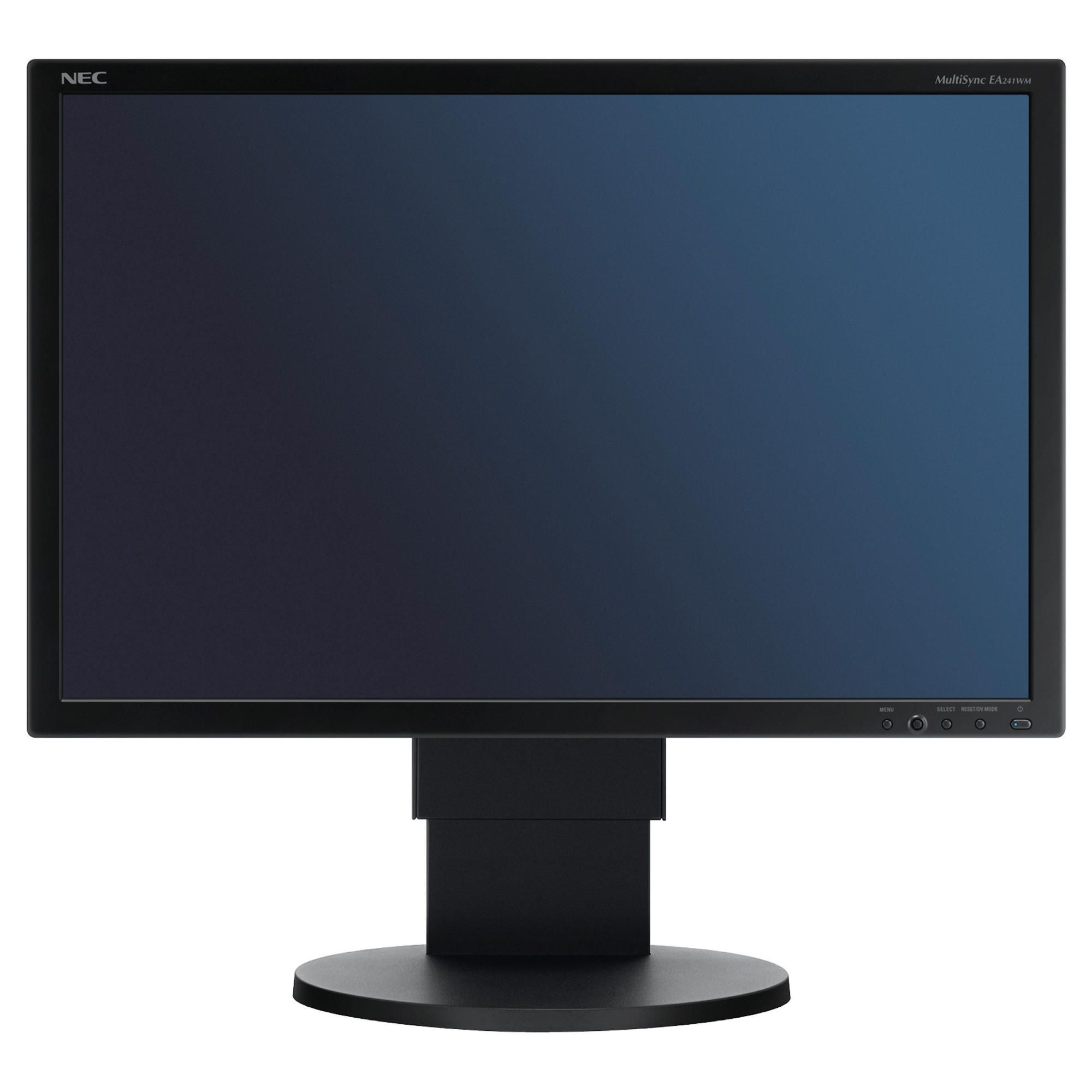 NEC EA241WMB 24'' LCD Monitor Black at Tesco Direct