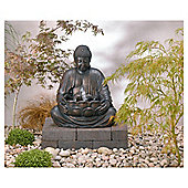 Solar On Demand Buddha Fountain