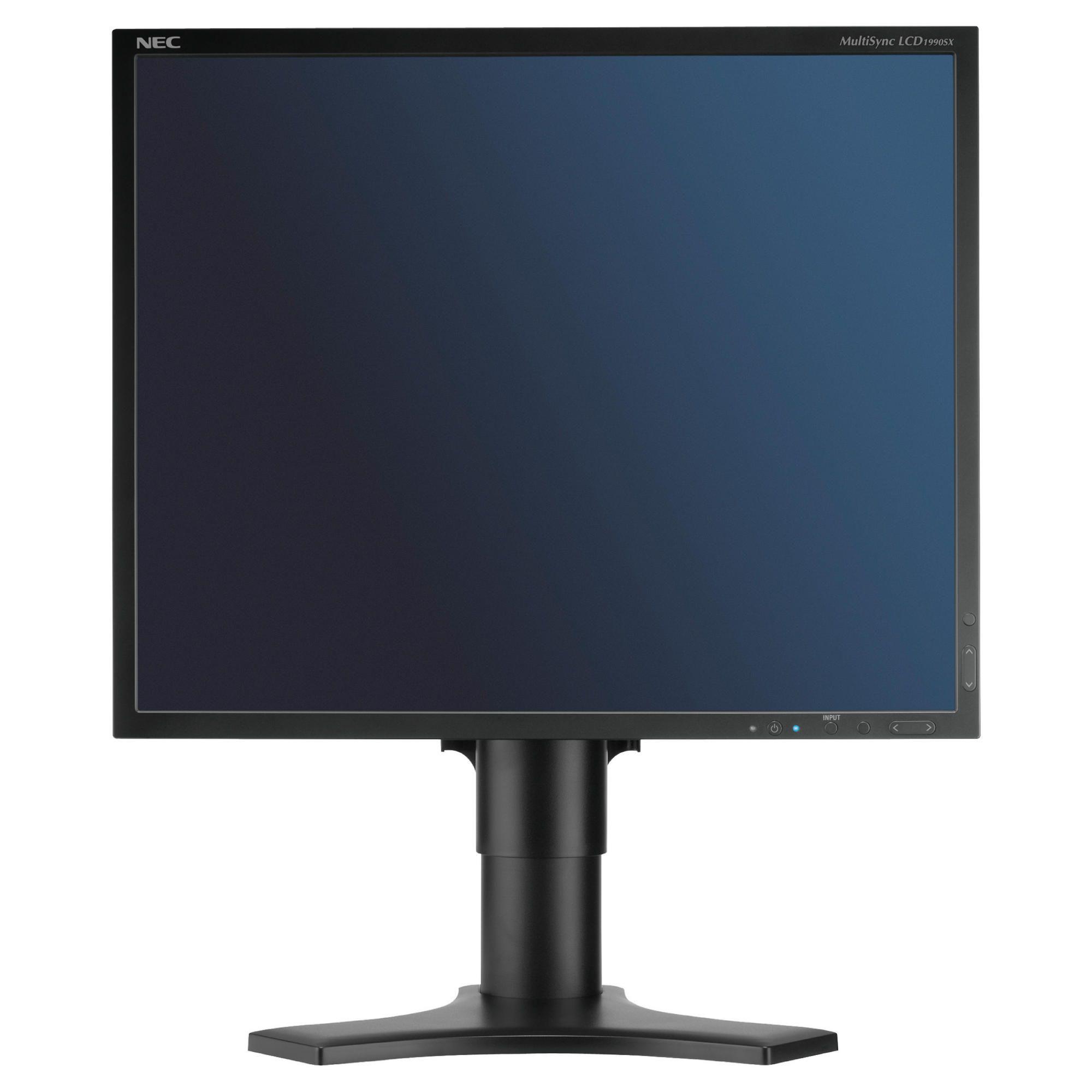 NEC 1990SXB 19'' LCD Monitor Black at Tesco Direct