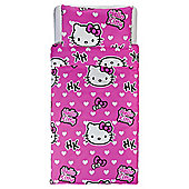 Hello Kitty Duvet Set Single