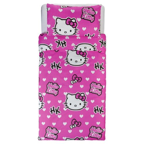 Hello Kitty Duvet Set Single.