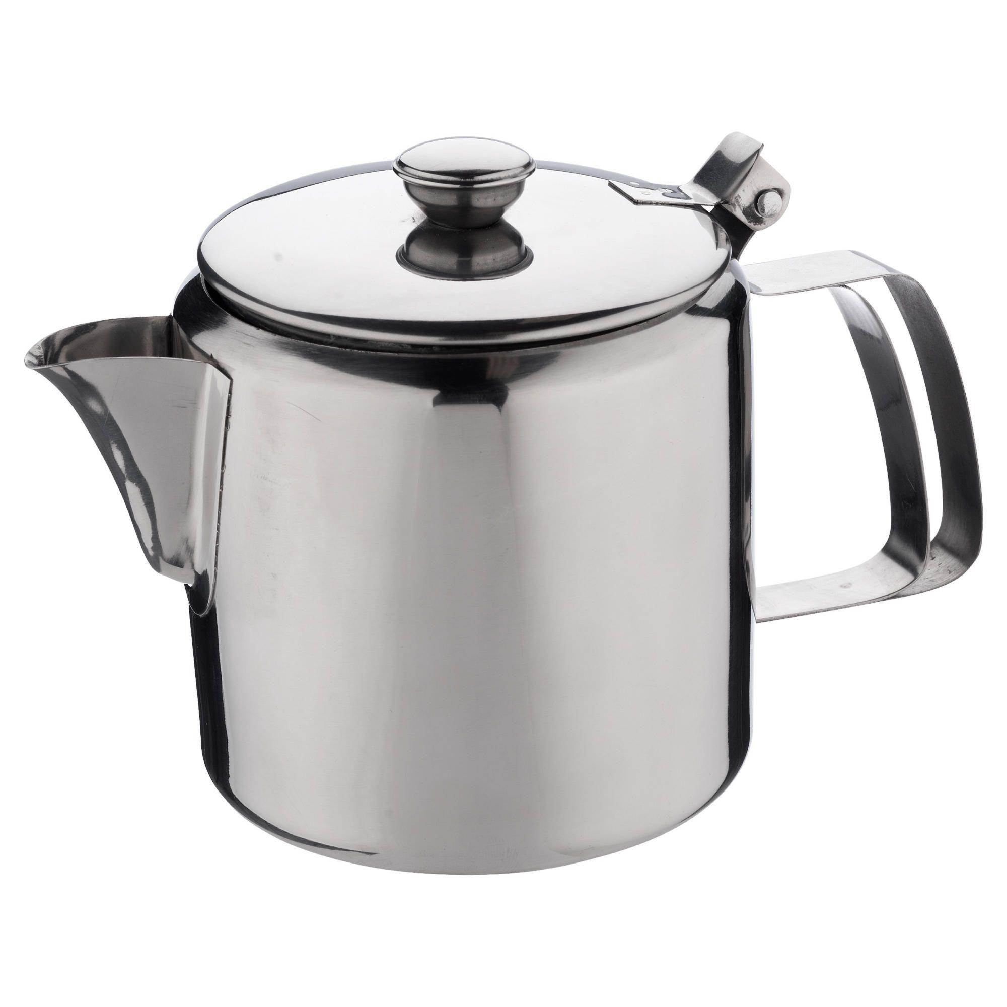 Tesco Small Stainless Steel Teapot