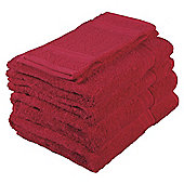 Tesco Towel Bale Red