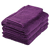 Tesco Towel Bale Purple