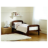 Saplings Harriet Junior Bed, Walnut & White