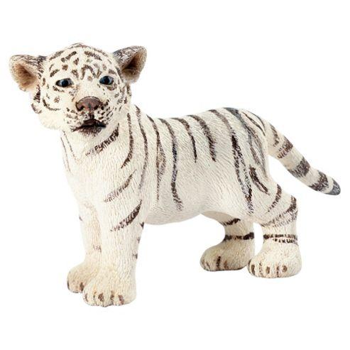 Schleich Tiger Cub White, Standing