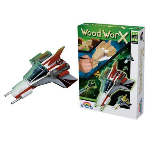 Wood Worx Star Ship