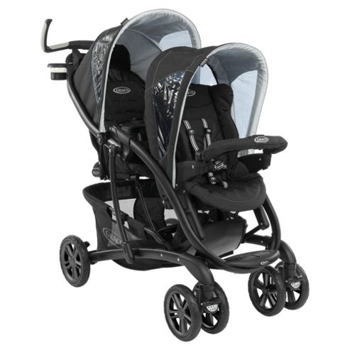 Graco Quattro Tour Duo Tandem Pushchair, Sport Luxe