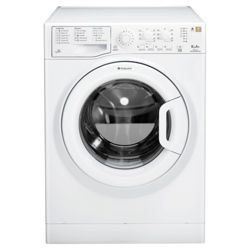 Hotpoint WMAL641P Washing Machine, 6kg Wash Load, 1400 RPM Spin, A+ Energy Rating. White