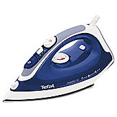 Tefal FV3770 Stainless Steel Plate Steam Iron - Blue & White
