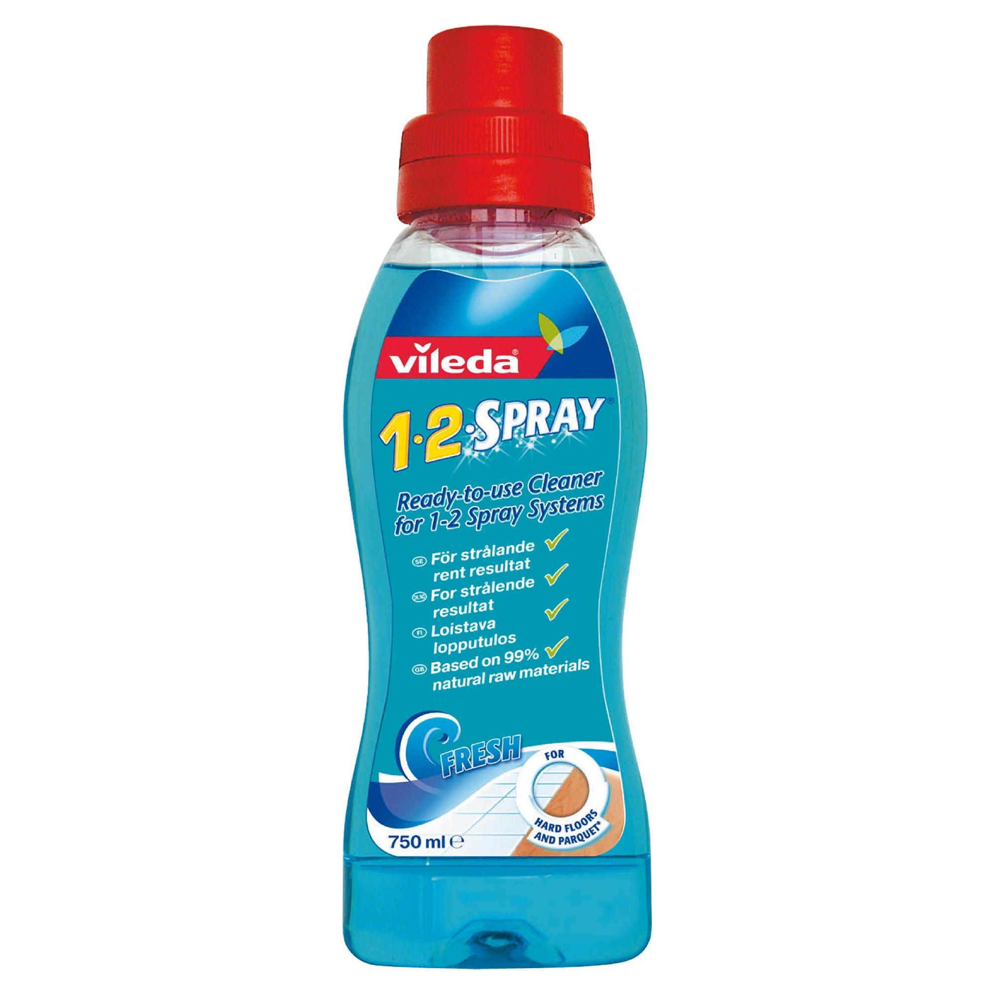 Vileda 1 2 Spray Liquid Refill
