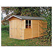 Finewood Guernsey 10 x 7 Apex Double Door Shiplap Shed