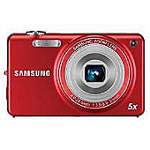 Samsung ST67 Red 5x optical zoom 12MP camera