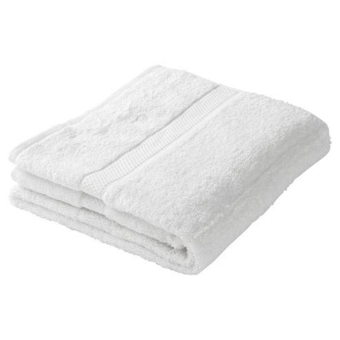 Finest Pima Bath Towel White