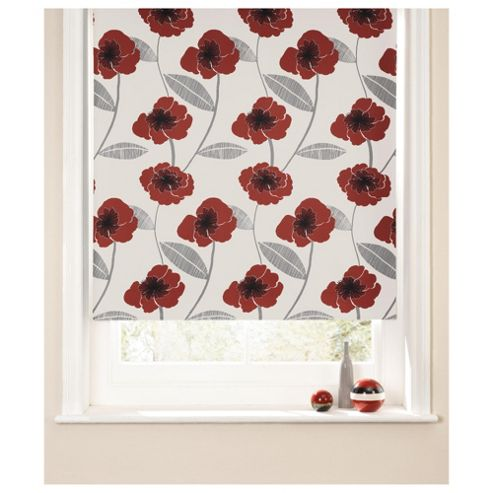 Poppy Roller Blind 90x160cm Red