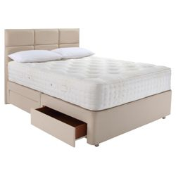 Relyon Luxury 1800 4 Drawer Divan Bed Superking