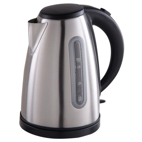 Tesco JKL11 1.7L 3KW Kettle Brushed Stainless Steel