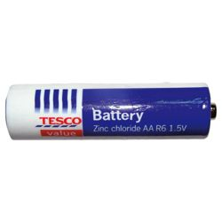 Tesco Value 4 pack AA Batteries