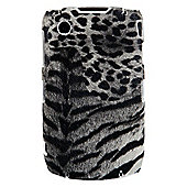 Bliss Hard Case BlackBerry 8520/9300 Grey Animal Print