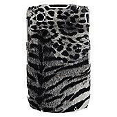 Bliss Hard Case BlackBerry 8520/9300 Grey Animal Print