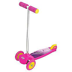 Evo Move 'N' Groove 3-Wheel Scooter, Pink & Purple