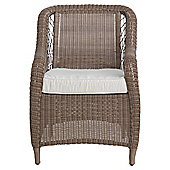 Malabar Wicker Armchair & Cushion