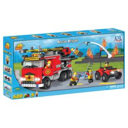 Cobi Action Town 500 Piece Fire Rescue Brigade