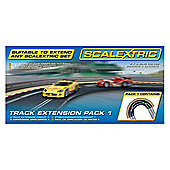 Scalextric C8510 Track Extension Pack 1 Racing Curve 1:32 Scale Accessory