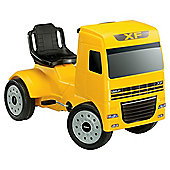 Ferbedo DAF Pedal Ride-On Truck, Yellow