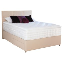 Relyon Luxury 2400 2 Drawer Divan Bed Superking