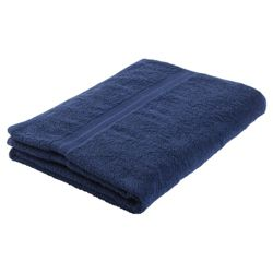 Tesco Bath Towel Navy