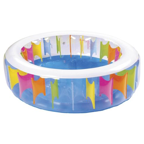 Tesco Giant Rainbow Paddling Pool