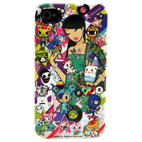 Toki Doki Deflector Plastic Case for Apple iPhone 4/4S - Discoteca
