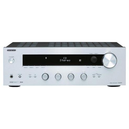 Onkyo Tx8030 Stereo Receiver (Silver)