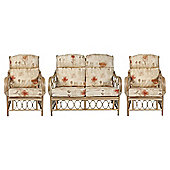 Morley 3-piece Suite Rattan Conservatory Furniture Set