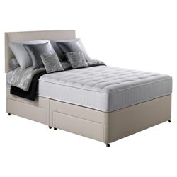 Silentnight Pocket Essentials Memory Foam Single Non Storage Divan Bed.